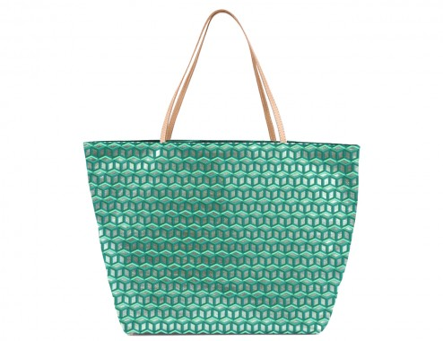 MY SHOPPING BAG CUBIC METAL MINT TOTAL MINT