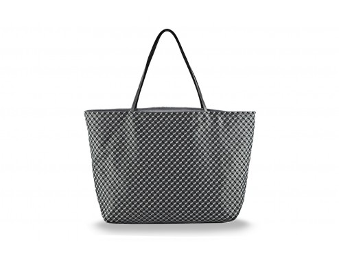MY SHOPPING BAG CUBIC GRIS TOTAL SILVER