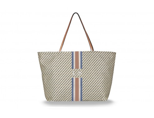 MY SHOPPING BAG CUBIC BEIGE STTROPEZ