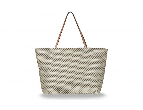 MY SHOPPING BAG CUBIC BEIGE TOTAL GOLD