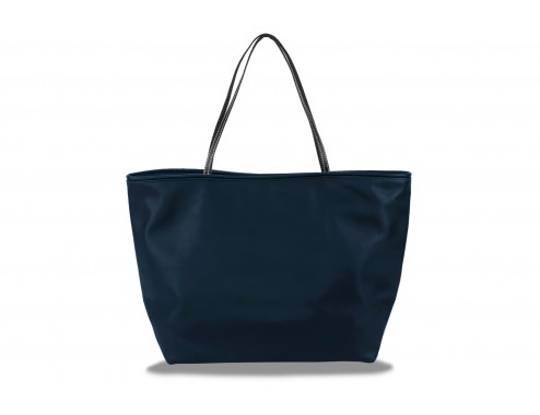 MY SHOPPING LEATHER TOTAL NAVY