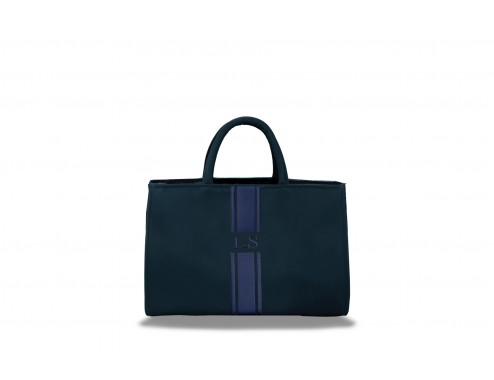 MY MINI MAXI LEATHER TOTAL NAVY