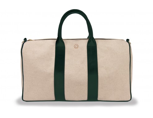 MY TRAVEL BAG MINIMAL CANVAS LEATHER PATO