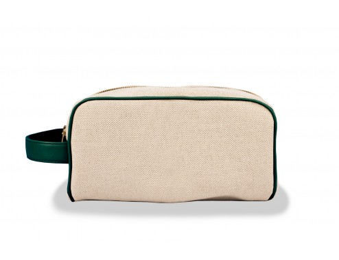 MY NECESER MINIMAL CANVAS LEATHER PATO